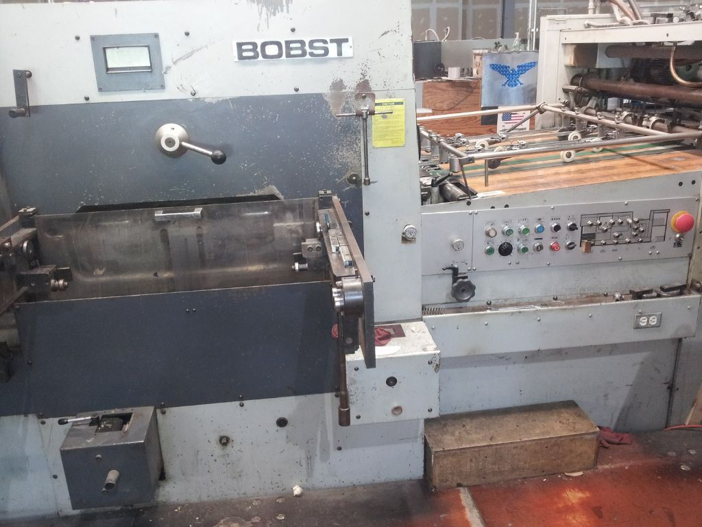 used machine BOBST-SP-102-BMA-1987