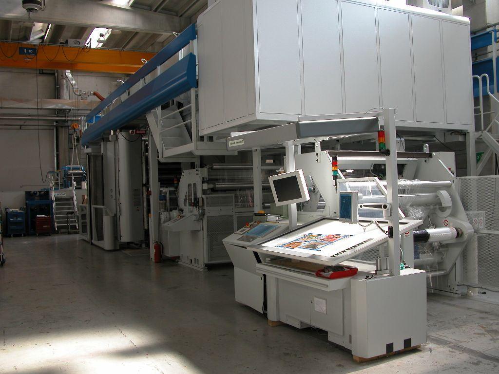 Color printing bobst - Color Printing Central Manufacturer Bobst Type Ef 5030 Year 2004 Options Model Ef 5030 Gearless